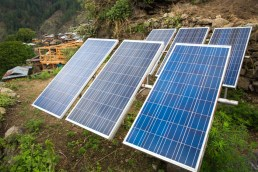 Kalap is now mostly run by solar electricity. Photo Courtesy Swati Chauhan/ The Outdoor Journal