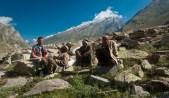 Shepherds in Miyar Valley