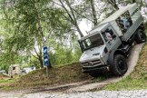 A Unimog goes up and down a 110% gradient. Photo: Apoorva Prasad/ The Outdoor Journal