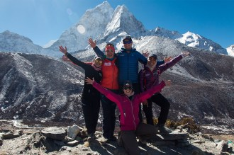 The Dream of Everest team.