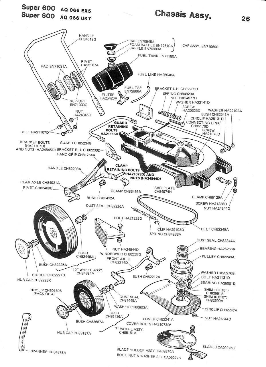 Briggs And Stratton Lawn Mower Diagram, Briggs, Free