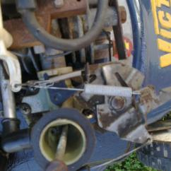 Briggs Carb Linkage Diagram Winged Swan 3d Origami & Stratton 3.5 Over Revs - Outdoorking Repair Forum