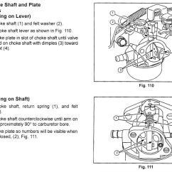 Briggs Carb Linkage Diagram Mono Wiring Craftsman Lawn Mower Carburetor