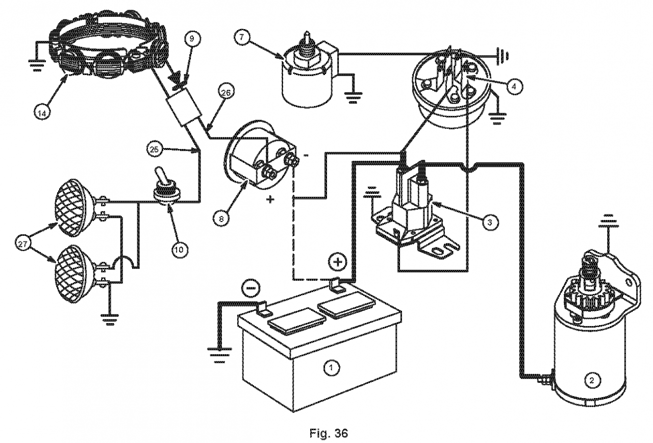 Kohler Single Cylinder Wiring Diagram