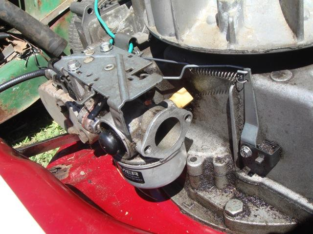craftsman lawn mower wiring diagram entity relationship software victa tvs90 tecumseh -throttle linkage how? - outdoorking repair forum