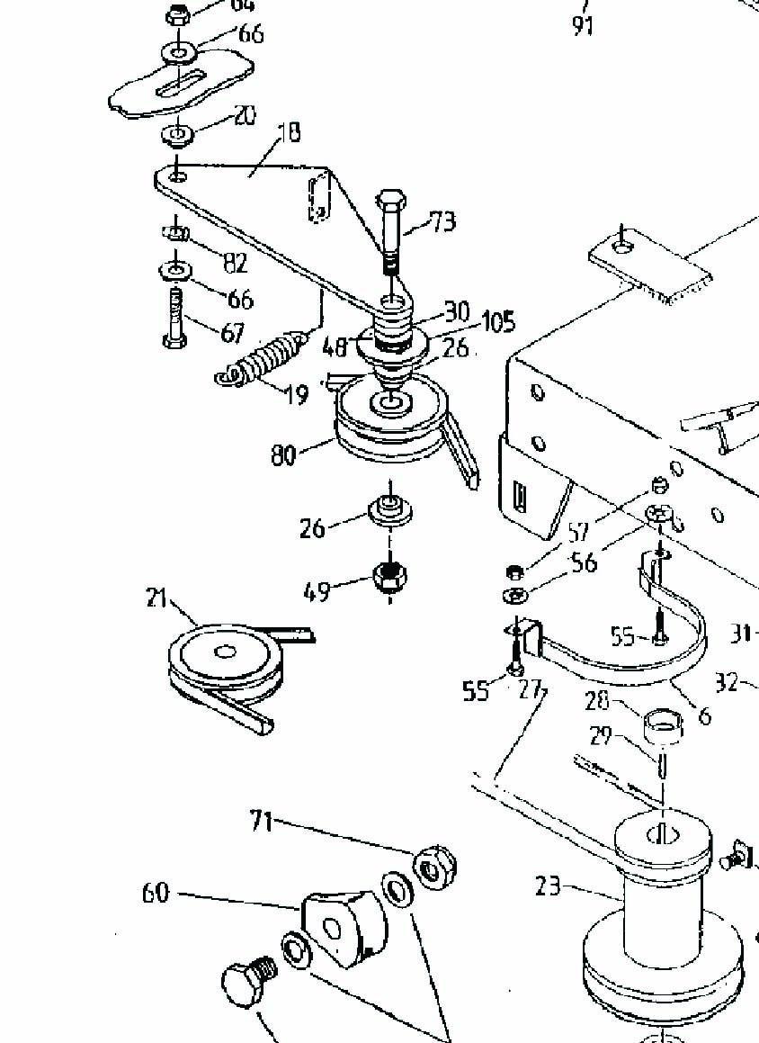 Rover rancher auto drive parts manual