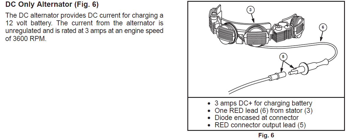 full 2772 10219 cox_stockman_11.5_hp_alternator_single_red_wire?resize\=665%2C268 briggs and stratton wiring diagram & 16 hp vanguard wiring  at creativeand.co