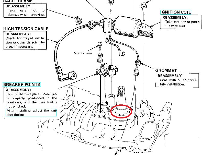 honda gv400 wiring diagram