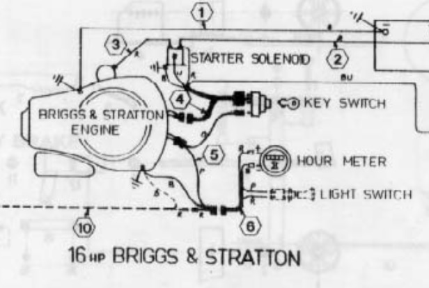 briggs and stratton wiring harness diagram similiar briggs