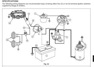 briggs and stratton 8hp wiring diagram need help