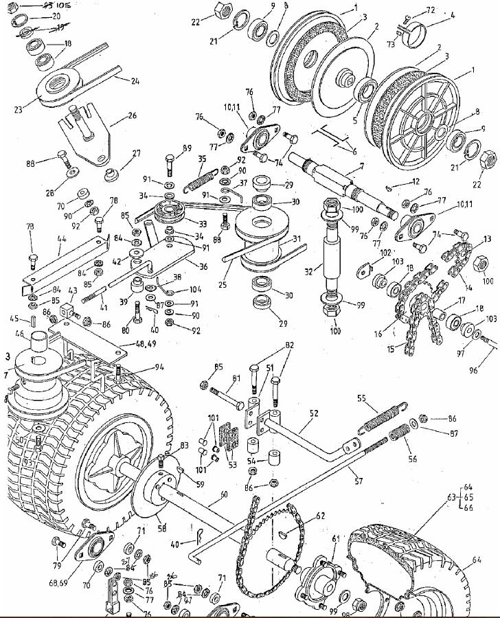 rover rancher mower manual