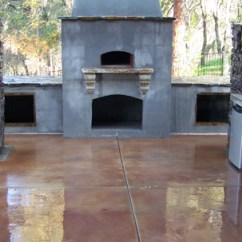 Outdoor Kitchen Oven Cabinets Stores Wood Fire Sacramento Custom Ca
