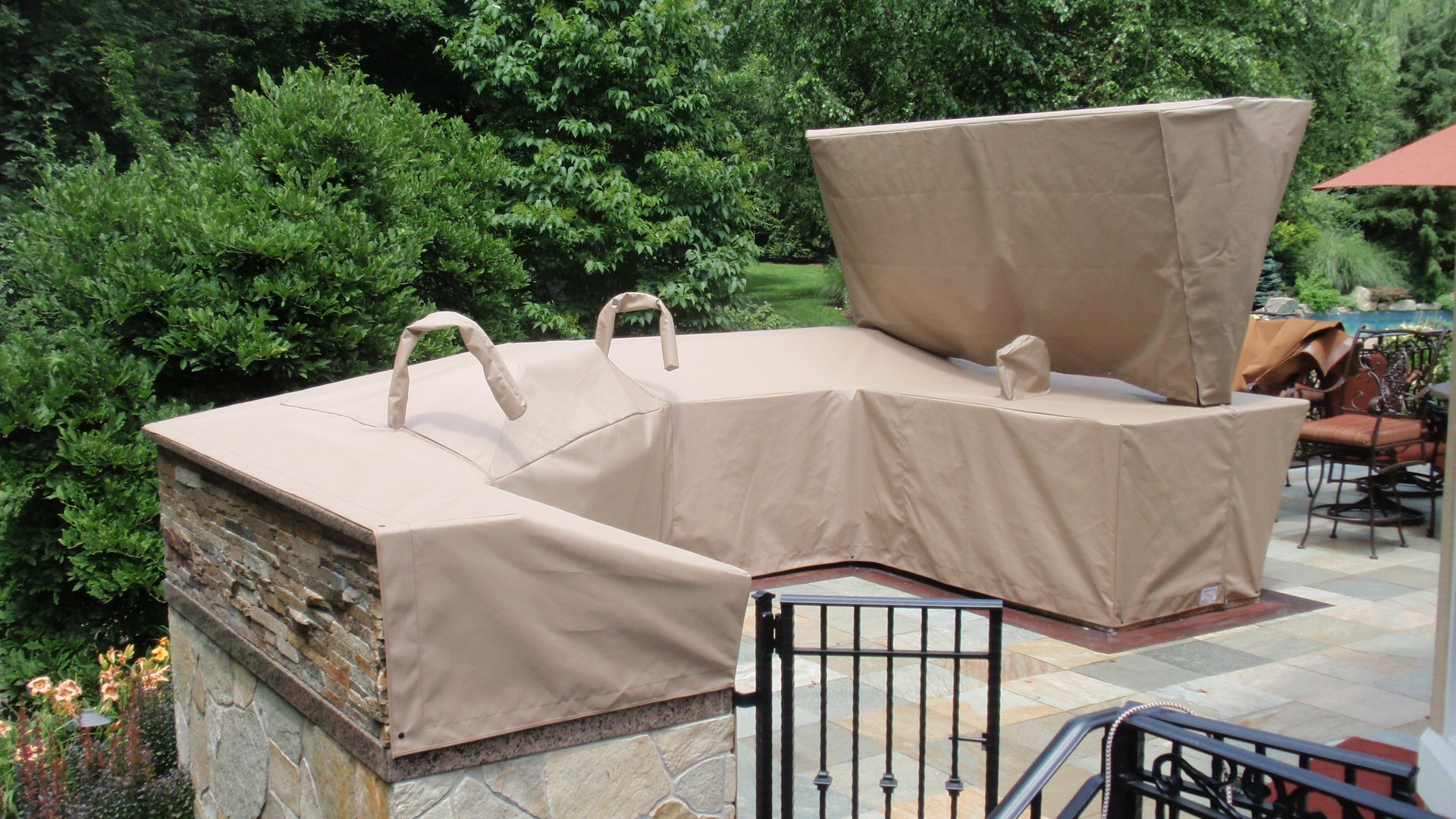 outdoor kitchen covers knives reviews custom grill