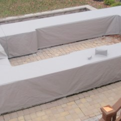 Outdoor Kitchen Covers Trash Cans For Custom Grill