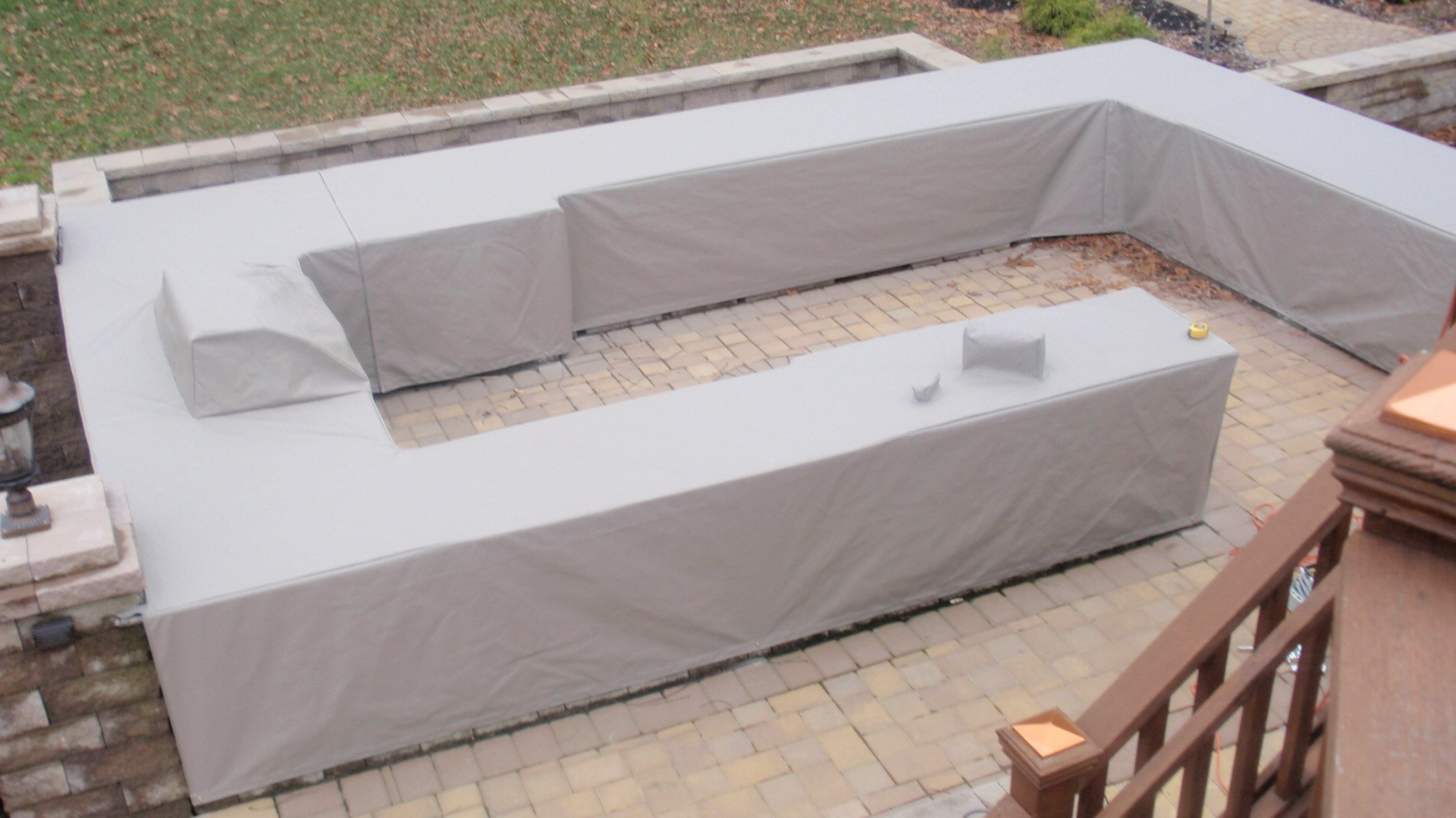 outdoor kitchen covers kid custom grill