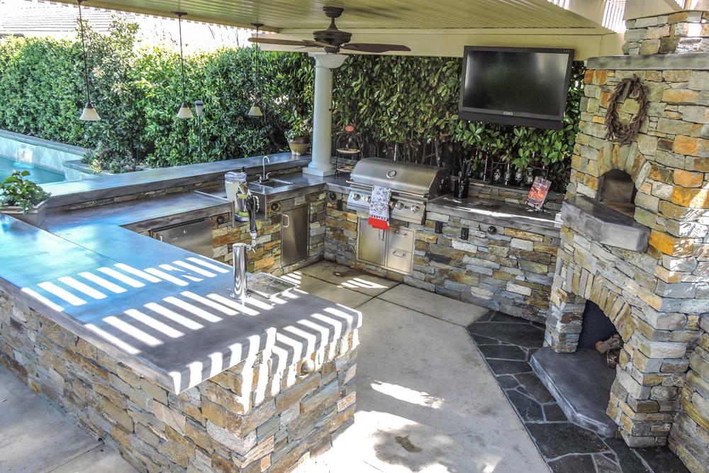 out door kitchen industrial cabinets outdoor sacramento custom kitchens luxury