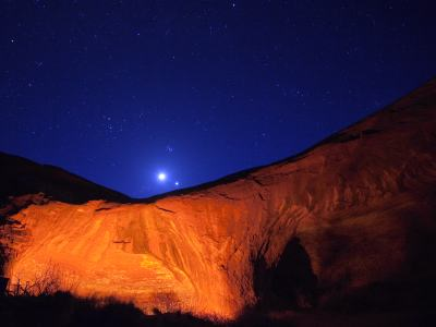 Sandstone Night Sky-Wilderness-iStock