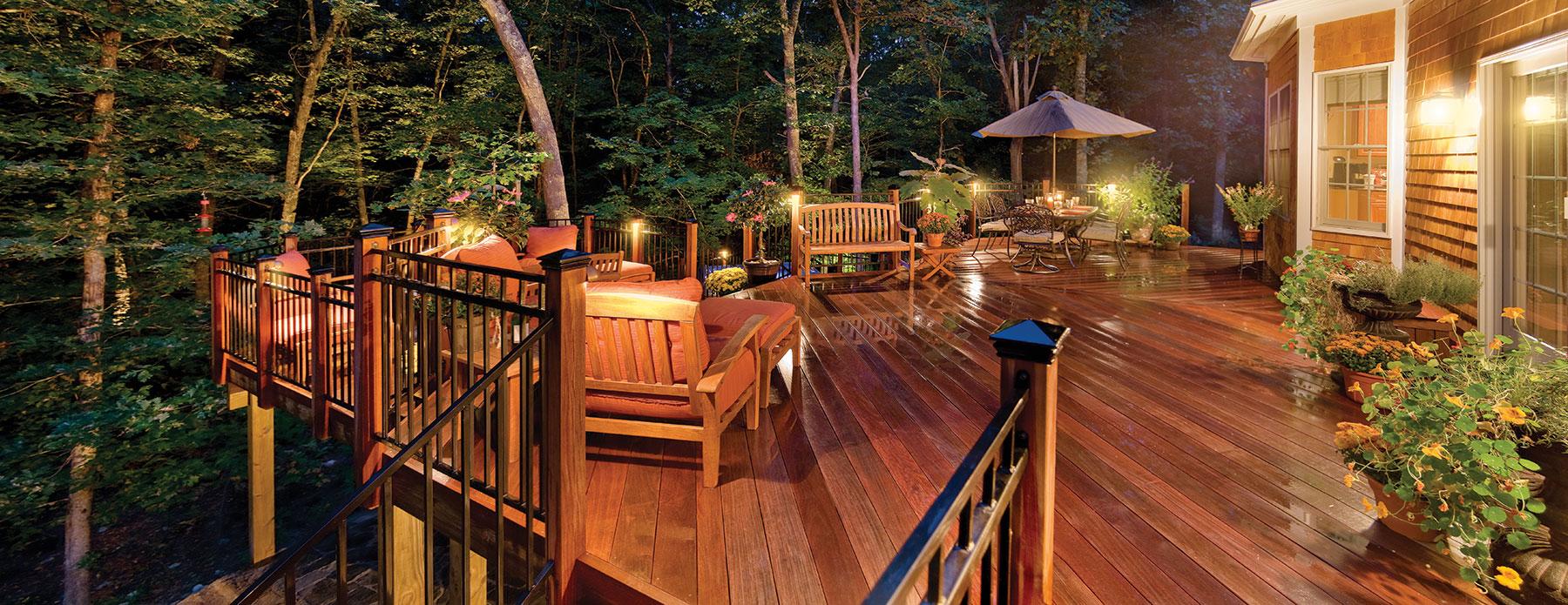 deck patio lighting outdoor