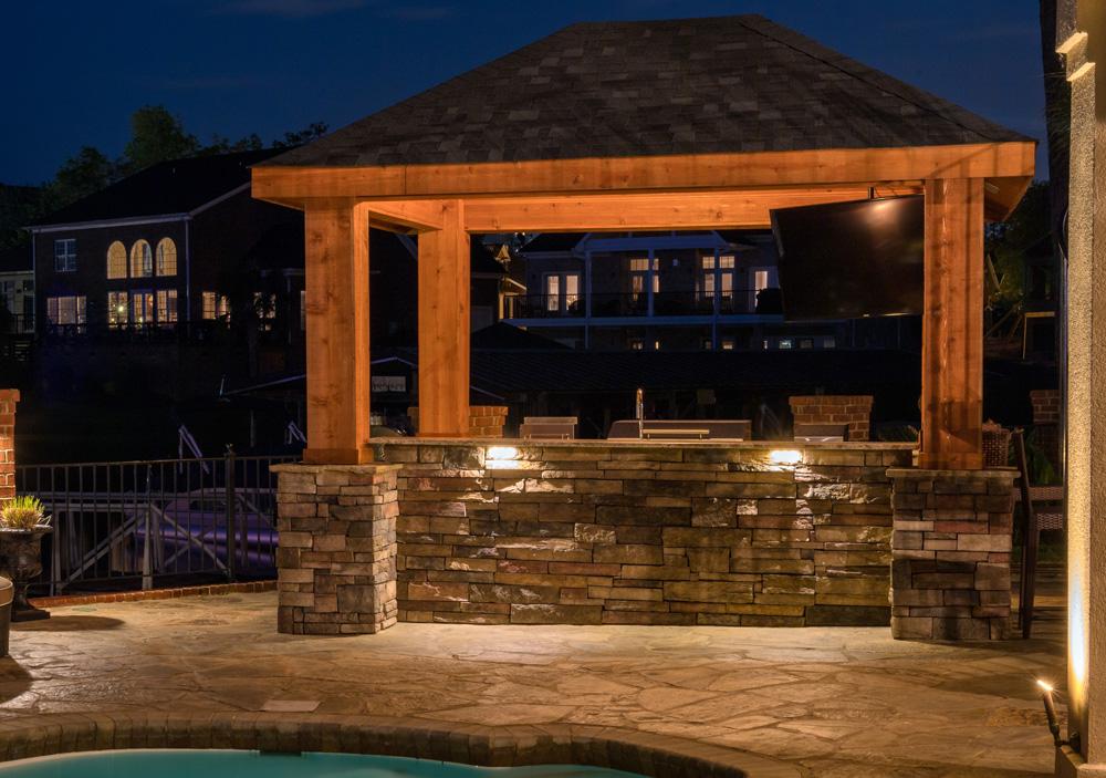outdoor bar lights in wilmington landscape lighting companies