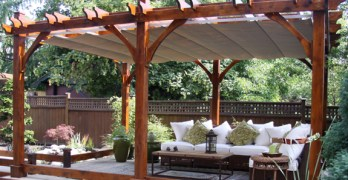 Outdoors in Springtime | Pergola Reviews