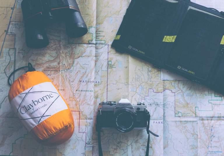Reiseutensilien