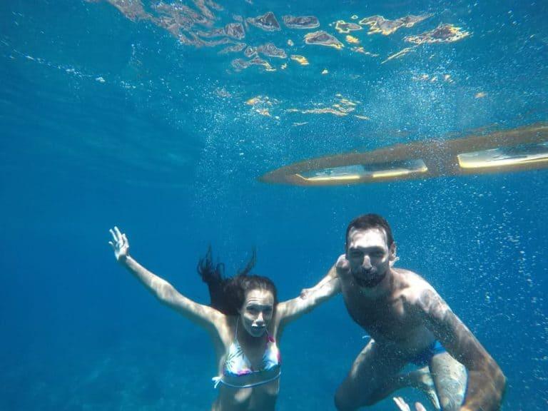 Unterwasserfoto