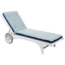 Sunlight Resin Beach Chaise Lounge