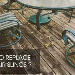 Deck Chair Sling Replacement Shower Chairs For Handicap Slings Vinyl Straps Patio Repair Parts Old Replace