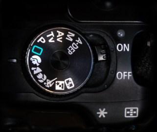 Camera Mode Dial