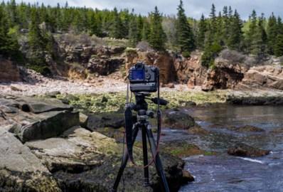 Tripod use in Acadia National Park