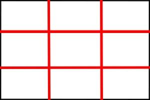 Rule of thirds graphic