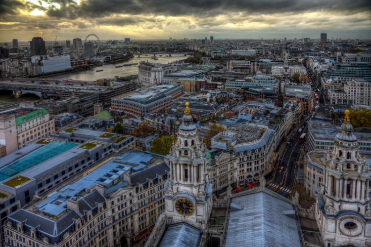 View from Dome of St. Paul's Cathedral