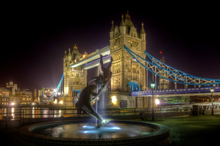 HDR example - Tower Bridge