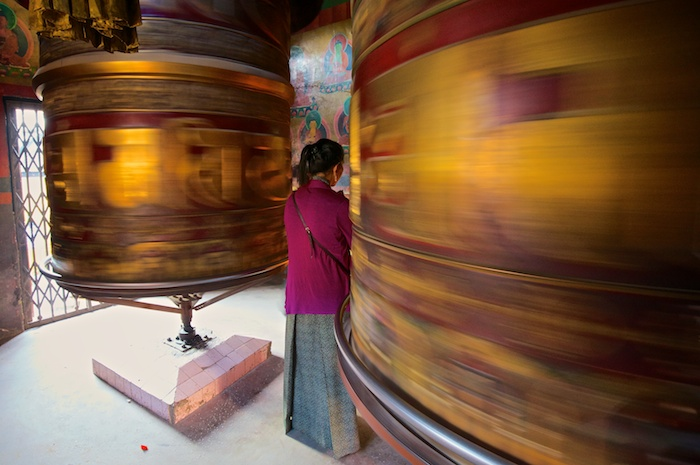 Prayer bells at Bouddhanath, Nepal, Asia, Nepal & Mt. Everest Photo Workshop