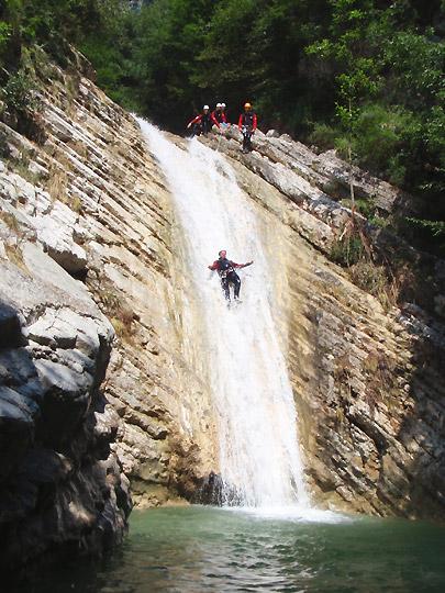 Canyoning Lake Garda Italy  Europe Guided Canyoning Tours