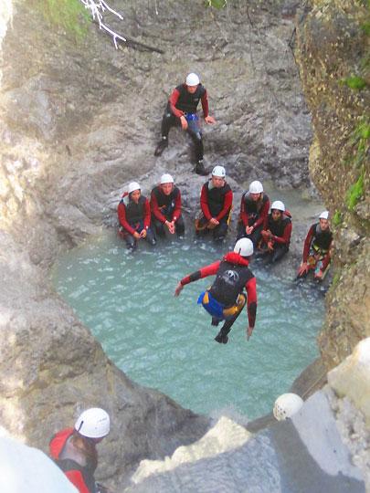 Canyoning Tirol Austria  Best Canyoning Tours Oeztal  Imst
