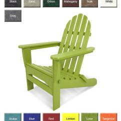 Poly Wood Adirondack Chairs Revolving Chair Fiber Base Polywood Ad5030 Classic Furniture