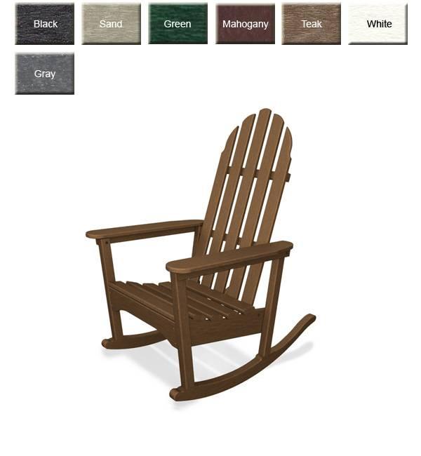 POLYWOOD ADRC1 Adirondack Rocking Chair: POLYWOOD Furniture