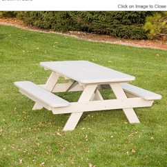 Highwood Adirondack Chair La Z Boy And A Half Polywood® Pt172 Commercial Grade Picnic Table: Polywood Furniture