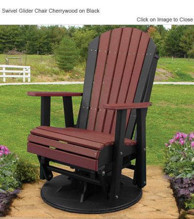 poly wood adirondack chairs barrel chair cushions outdoor furniture luxury pcglcr high back glider swivel