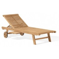 Oxford Garden Wood Outdoor Chaise Lounge OG-L70 ...