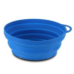 Lifeventure Eclipse Collapsable Silicon Flexibowl blue