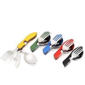 ODP 0030 3-in-1 Folding Cutlery various colour