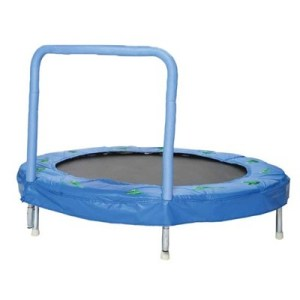 Bazoongi ODP 0115 48 inches Trampoline froggy blue