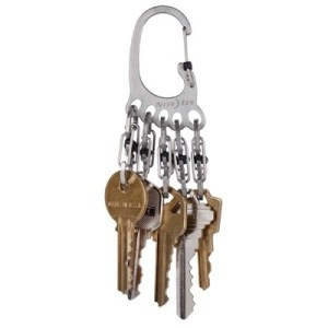 Nite Ize Bigfoot Locker Keyrack stainless