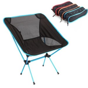 Chanodug ODP 0181 FX-7009 Folding Camping Chair sky blue