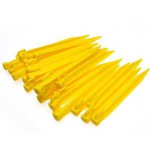 Freelife ODP 0287 10pcs 9'' Plastic Tent Pegs