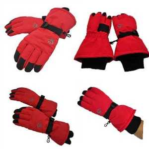 Hasky ODP 0280 Waterproof Gloves L red