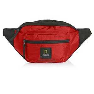 National Geographic Explorer Waist Bag red