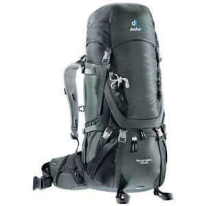 Deuter Aircontact 45 + 10 granite-black